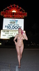 Marilyn Snow flashing & stripping in Las Vegas